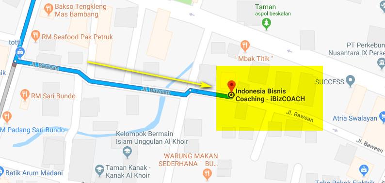 maps akeyodia pelatihan bisnis indonesia