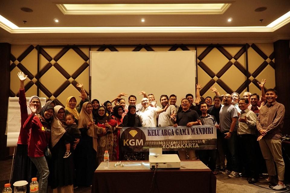 Kelas Wirausaha Bersama KGM Keluarga Gama Mandiri Yogyakarta