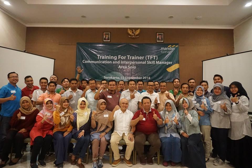 Training Akeyodia bersama Bank Mandiri Syariah Area Solo