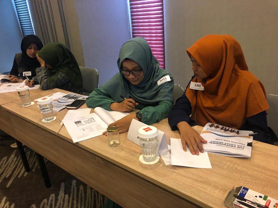 In House Training bersama PRATISTA SKIN CARE