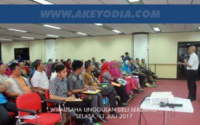 Seminar Kewirausahaan Unggulan BI Deli Serdang Sumatera Utara