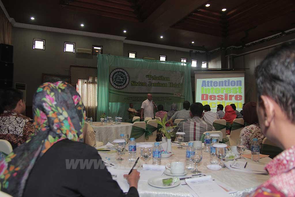 Pelatihan Sisteman Jaminan Halal