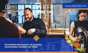 Pelayanan Memuaskan, Pelanggan akan Kembali dengan Hati Riang