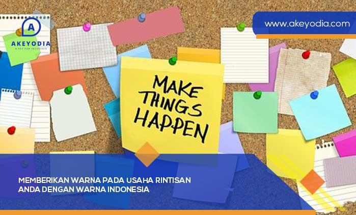 Memberikan Warna pada Usaha Rintisan Anda dengan Warna Indonesia