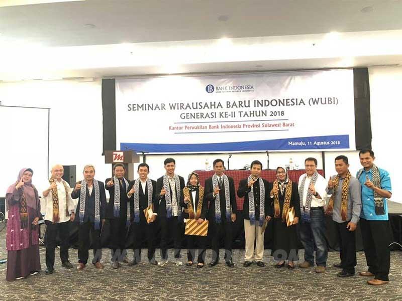 Program Wira Usaha Binaan (WUBI) Bank Indonesia Generasi-II Tahun 2018 Provinsi Sulawesi Barat
