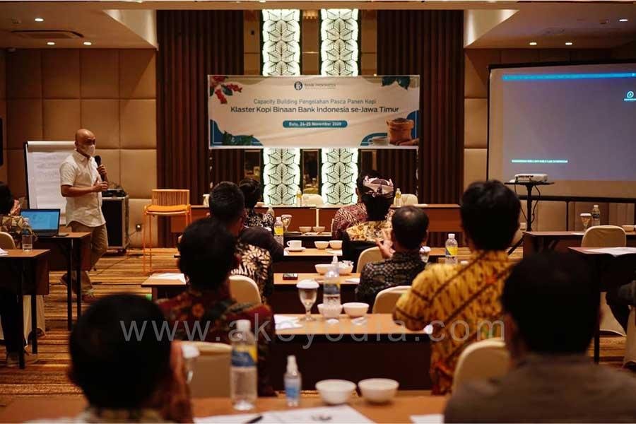 Program In House Training Capacity Building Pengolahan Pasca Panen Kopi – Klaster Kopi Binaan Bank Indonesia se-Jawa Timur