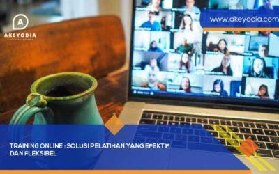 Training Online : Solusi Pelatihan yang Efektif dan Fleksibel