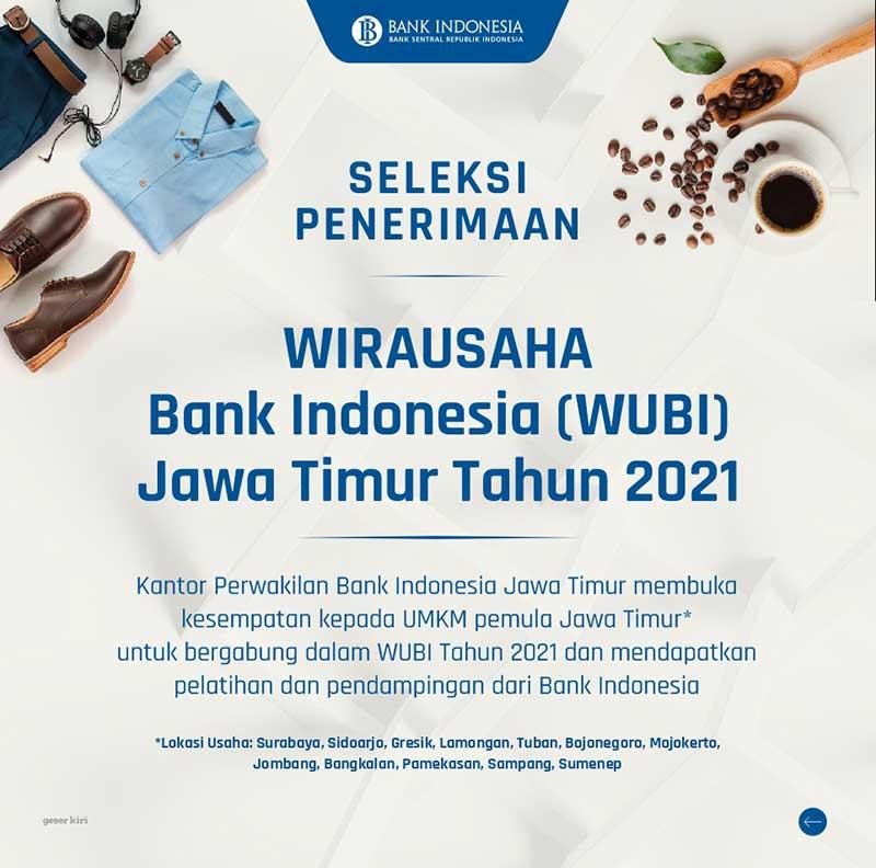 wubi bank indonesia jatim 2021